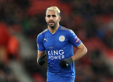 The Foxes demanded £95million for the 26-year-old during the transfer window.