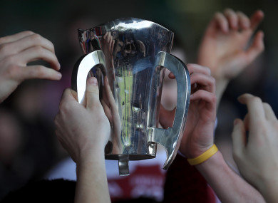 File picture: The Dr Harty Cup.