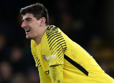 4f443863deb My heart is in Madrid  — Chelsea keeper Courtois · The42