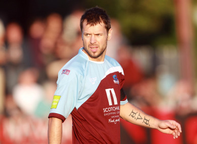 Declan O'Brien is Drogheda's all-time leading goalscorer.