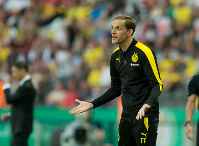 Tuchel was most recently in charge of Borussia Dortmund.
