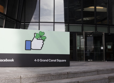Facebook's European HQ in Dublin.