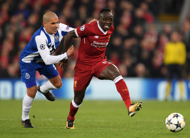Mane: ready for Saturday's trip to Old Trafford.