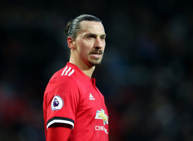 Zlatan hasn't played since St Stephen's Day.