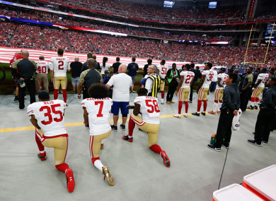 Eric Reid and Colin Kaepernick now have something else in common.