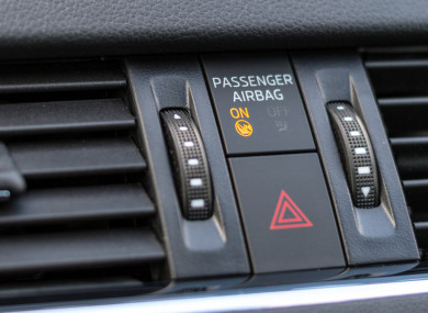 How to deactivate the passenger airbag - and why you might