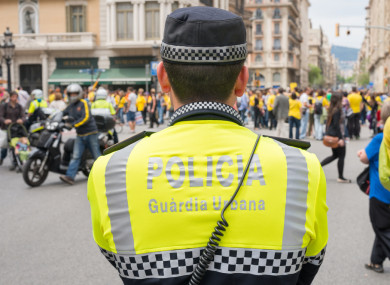 Suspicions were raised after a reported rise in fake documentation at Barcelona airport.