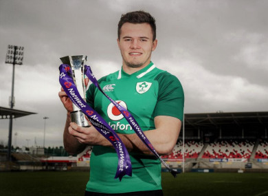 Friday saw Stockdale named as 2018 NatWest Player of the Championship.