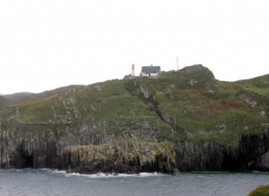 The island lies off the coast of Co Cork.