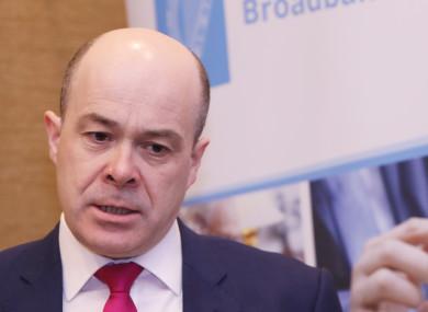 Minister for Communications Denis Naughten