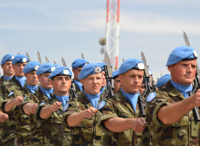 The Irish Defence Forces are shortlisted for their peacekeeping efforts.