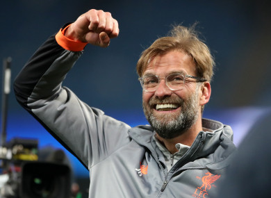 Jurgen Klopp says Liverpool have become more consistent in recent times.