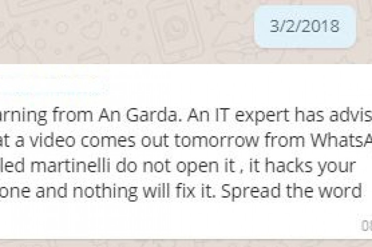 FactCheck: Is the 'Martinelli' virus real and can it hack your phone
