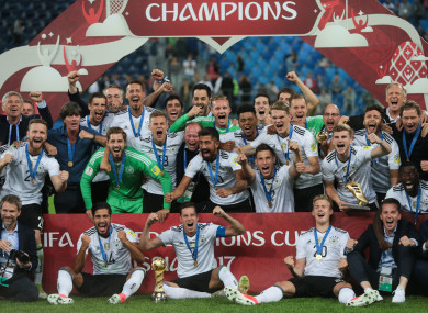 Germany won the 2017 Confederations Cup.