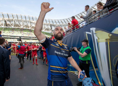 Fardy was one of the standout performers for Leinster against Scarlets.