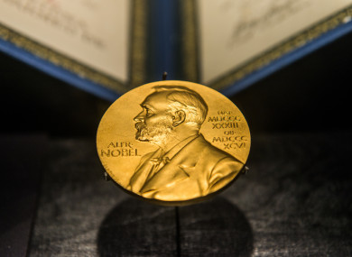 The Nobel Prize, which bears the face of Alfred Bernhard Nobel, the Swedish chemist, engineer, inventor, and businessman.