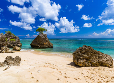 Bingin Beach in Bali, Indonesia
