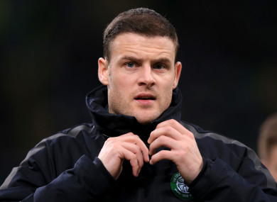 Anthony Stokes (file pic).