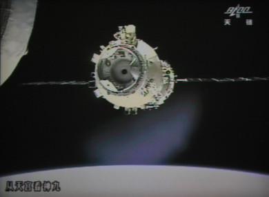 The Tiangong-1 space station