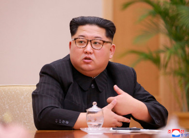 North Korea leader Kim Jong Un