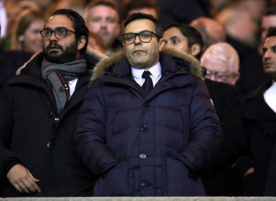 Leeds' Italian owner Radrizzani.