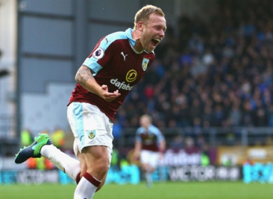 Scott Arfield (file pic).