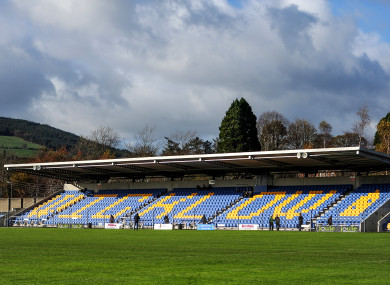Aughrim has a capacity of 8,000.