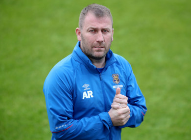 Waterford manager Alan Reynolds.