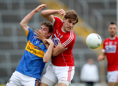Bill Maher with Ian Maguire of Cork