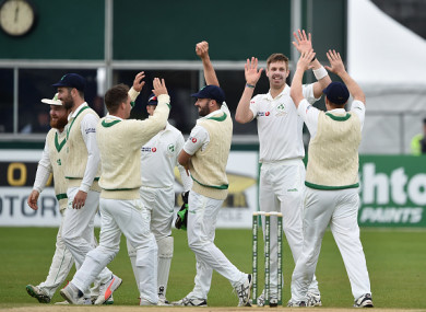 Ireland pushed Pakistan all the way but came up just short.