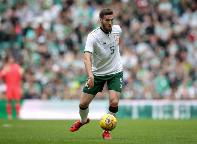 Doherty has two caps to his name but he's eager for greater involvement.