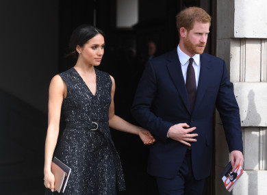 Actor Meghan Markle and British royal Prince Harry are to marry on Saturday.