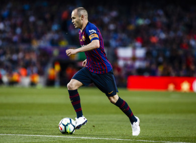 Iniesta: One of the greats.