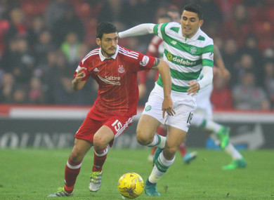 O'Connor played 38 league games for Aberdeen last season.
