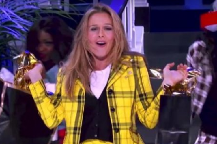 Alicia Silverstone's appearance on Lip Sync Battle was Cher