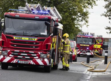 A file photo of a fire engine.