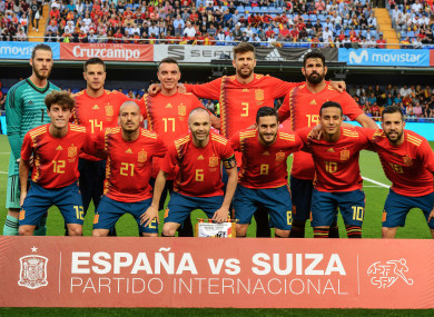 Spain were the big losers in the top-10.
