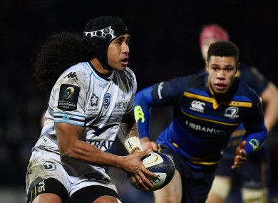 Tomane has played against Leinster several times in recent seasons.