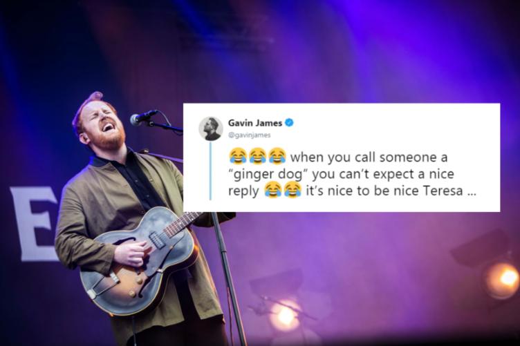 dd817c6e4b2f Gavin James shut down a fan on Twitter for calling him rude when he ...