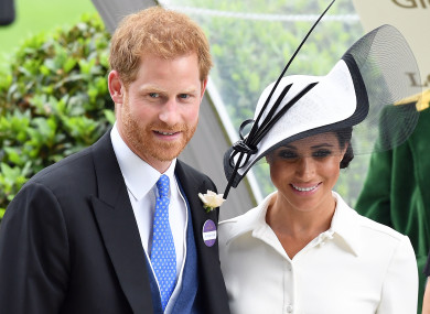 The couple attend the first day of Royal Ascot on June 19, 2018.