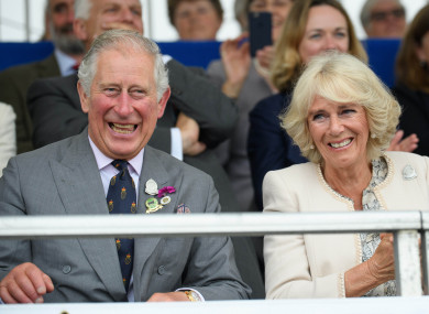 Prince Charles and the Duchess of Cornwall, Camilla.