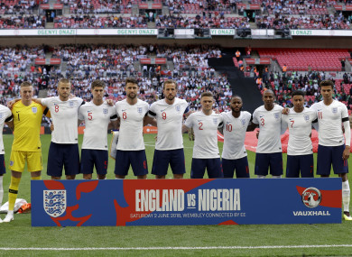 The England team have often struggled to live up to expectations at past major tournaments.