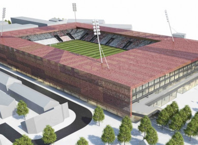 The proposed 12,000 seater Richmond Arena.