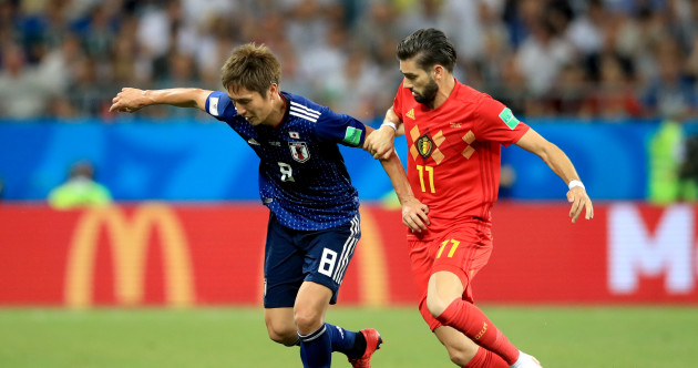As it happened: Belgium v Japan, World Cup last 16