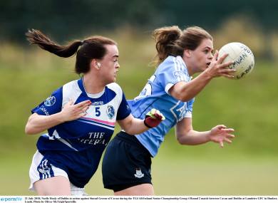 Noelle Healy starred for the Dubs.