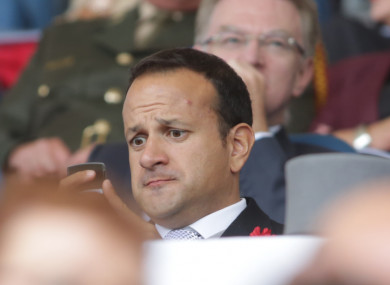 Leo Varadkar says he has asked Micheál Martin to meet, but as of yet there's been no reply.