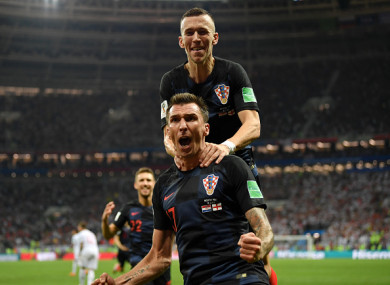 Mandžukić struck to send Croatia into a first-ever World Cup final.