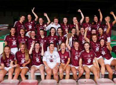 Winning: Galway minors.