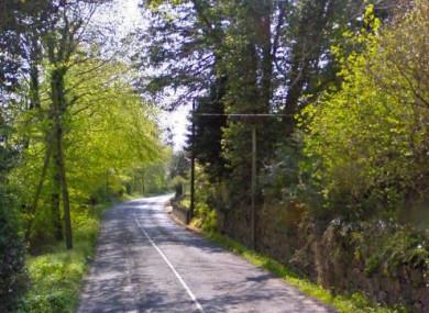 The R755 near Laragh in Wicklow.