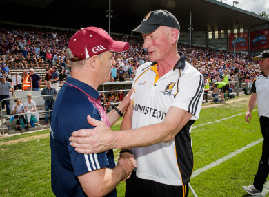 Brian Cody had high praise for Galway after yesterday's decider.
